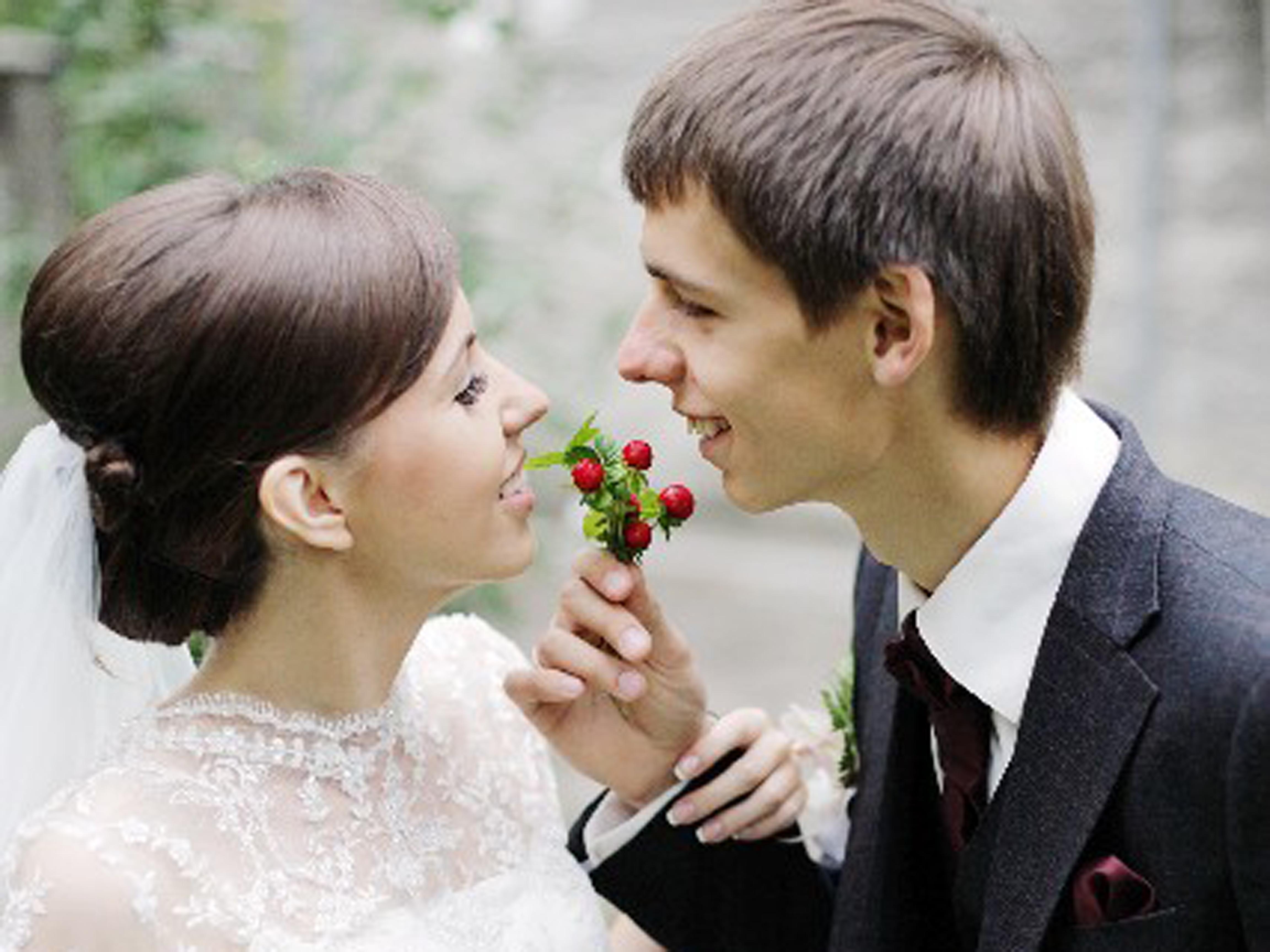 結婚幸せ カップル