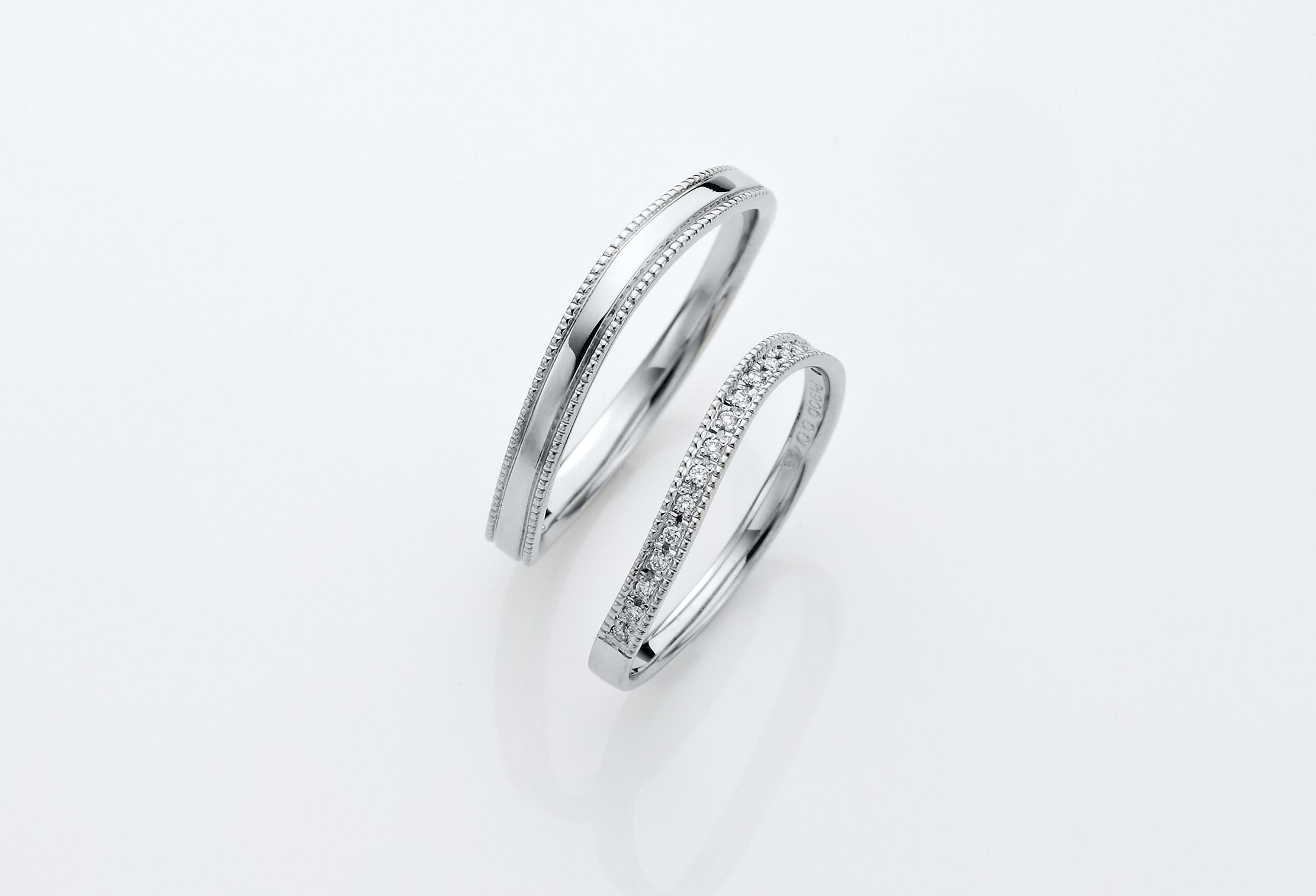 ゴージャス結婚指輪